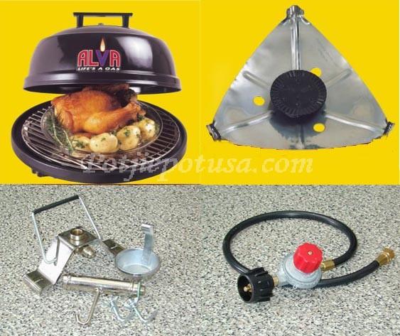 Quick-E Portable Gas Grill