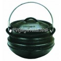 Plat (Flat) Potjie Pot Size No. 1 (Best Duty) - Include complementary Lid Lifter Knob ($9.95 value)