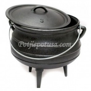 Potjie Pot Size No. 1/4