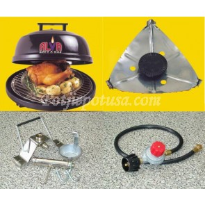 Quick-E Portable Gas Grill
